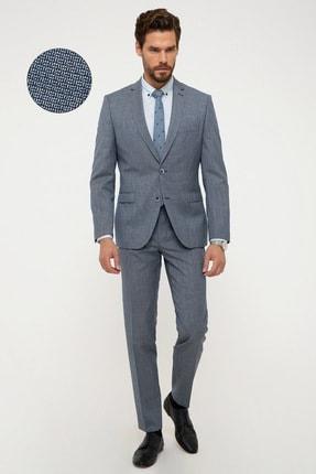 Pierre Cardin Erkek Koyu Mavi Ekstra Slim Fit Takım Elbise