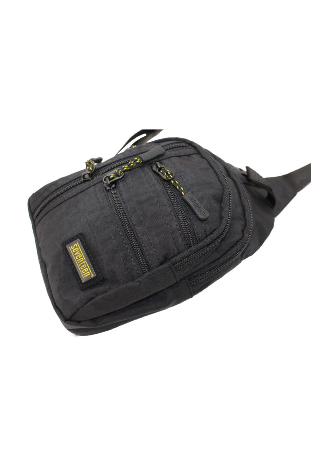 SEVENTEEN 4924 Tek Omuz Askılı Krinkle Sırt  Göğüs Çantası  Body Bag 2