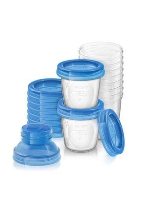 Philips Avent Anne Sütü Saklama Kabı 10 Adet 180 ml