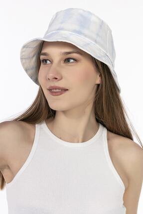 Y-London 14009 Mavi Batikli Bucket Şapka