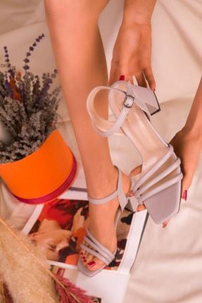 SOHO Gri Kadın Klasik Topuklu Ayakkabı 15831