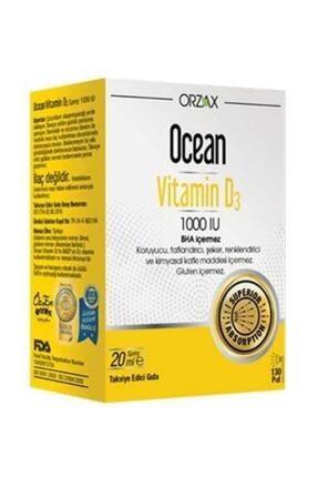 Orzax Vitamin D 3 1000 Iu 20 ml Sprey 12/2022