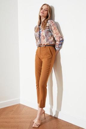 TRENDYOLMİLLA Camel Cigarette Pantolon TWOSS19ST0038