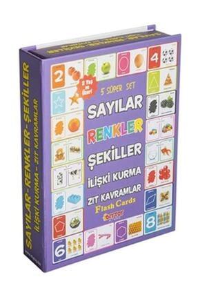 Dıytoy Yayınları Bebek Zeka Kartları Eğitim Seti / Flash - Eğitici Kart Seti