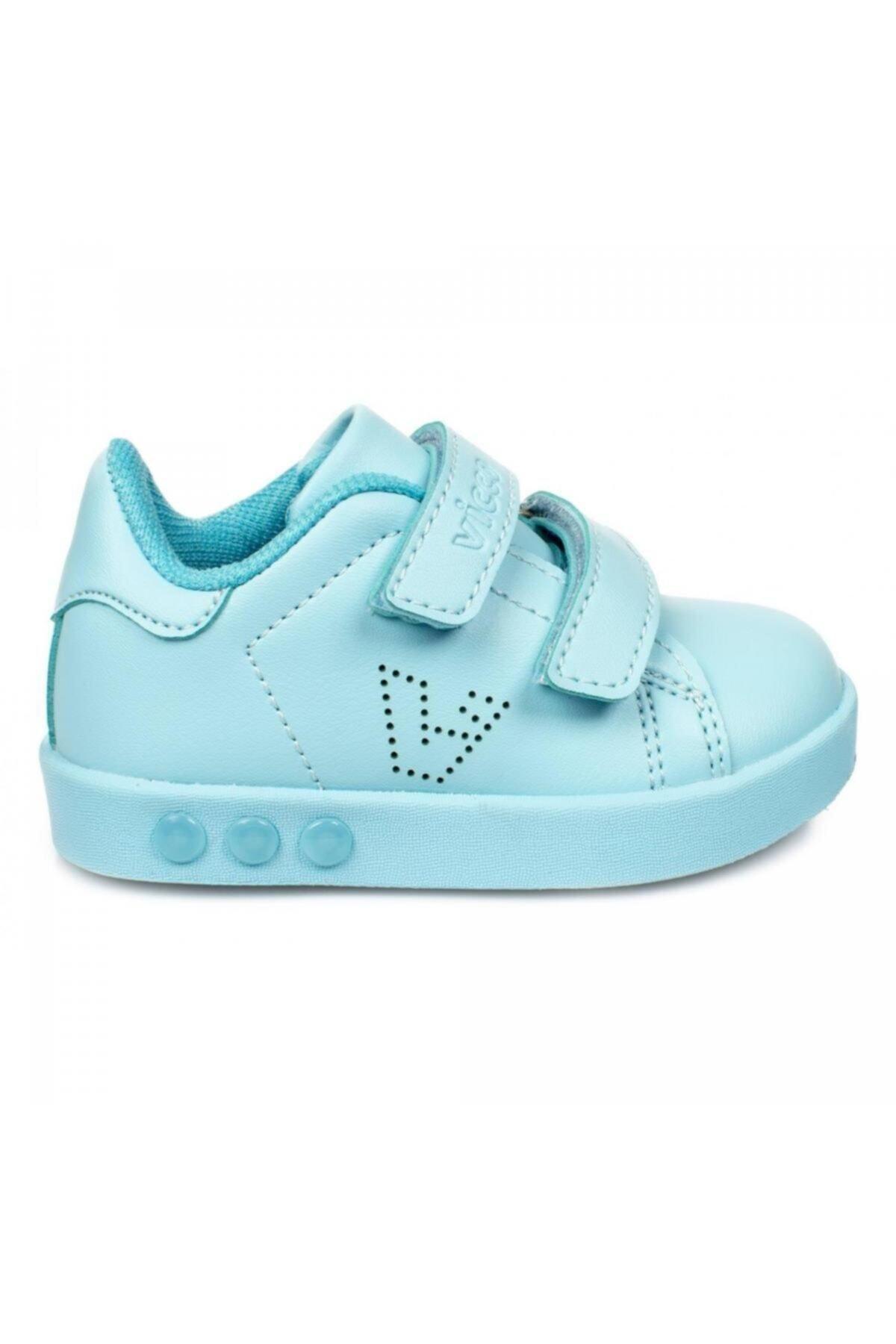 Vicco Bebe Işıklı Spor Ayakkabı Çocuk Mavi 2