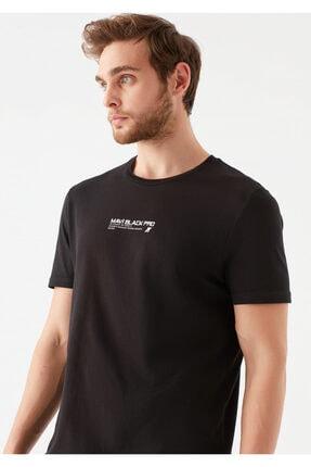 Mavi Black Pro Logo Baskılı Siyah Tişört