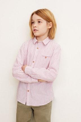 MANGO Kids Erkek Çocuk Kırmızı  Gömlek 43050783