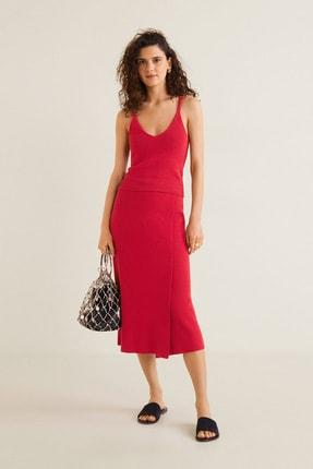 MANGO Woman Kadın Kırmızı  Bluz 43067739