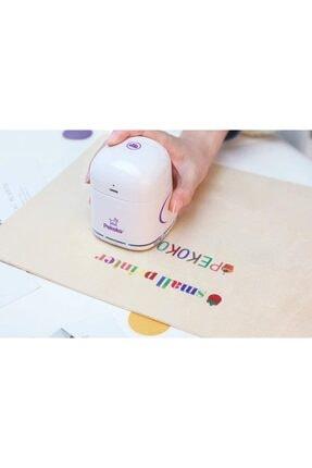Yazıcı Dünyası Pekoko Mini Renkli Taşınabilir Barkod, Resim,logo,tarih,etiket Yazıcı