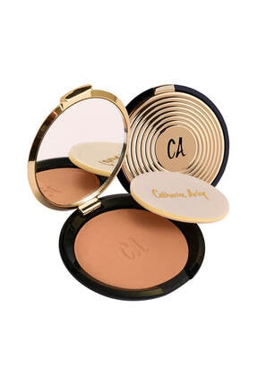 Catherine Arley Gold Pudra - Gold Compact Powder 105