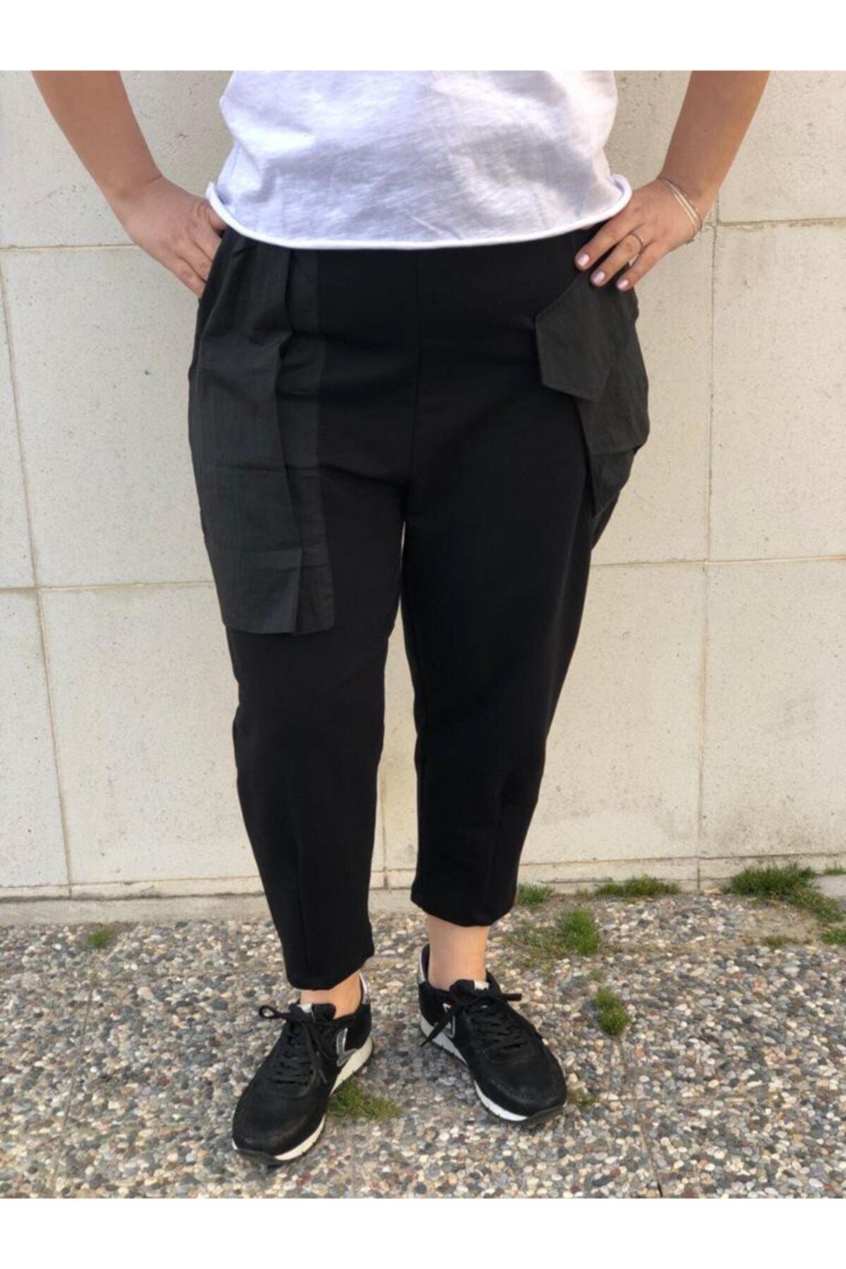 BAKTAGÖR Kadın Siyah Eşofman Pantolon 2