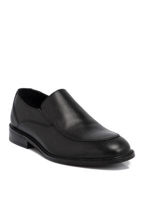 Tergan Siyah Deri Erkek Ayakkabı 54692a43