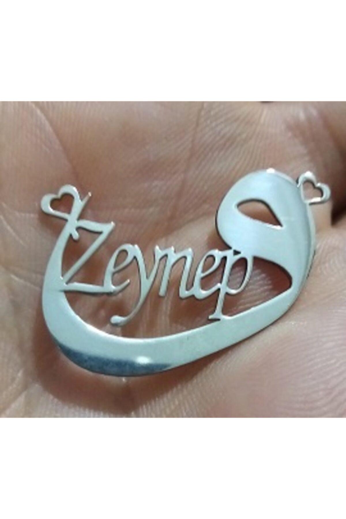 Yetkin Zeynep Isimli Gümüş Kolye 1
