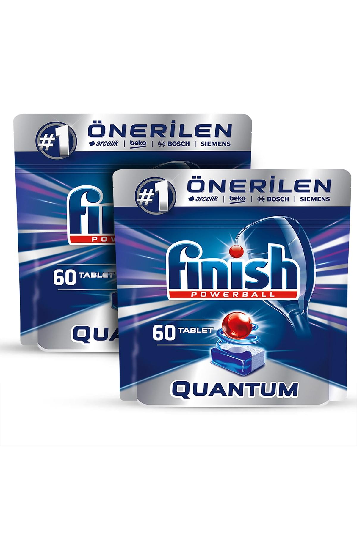 Finish Quantum 120 Tablet Bulaşık Makinesi Deterjanı (60x2) 2