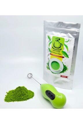 Karadeniz Matcha 250 gram Yüksek Kaliteli Matcha Çayı Ücretsiz Elektronik Köpürtücü Ve 2 Adet Pil