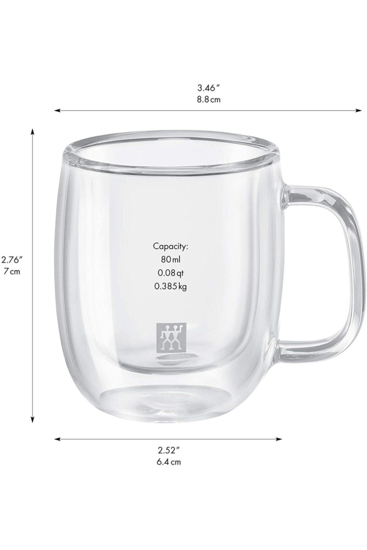 ZWILLING 395001100 Çift Camlı Kahve Bardağı 2