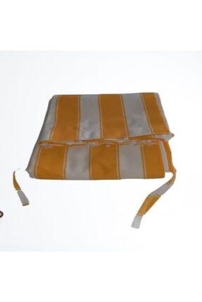 Ataylar Balkon Perdesi En.500x250 Cm Kullanıma Hazır Üstü Korniş Düğmeli Alt Ve Yanlar Bağcıklı