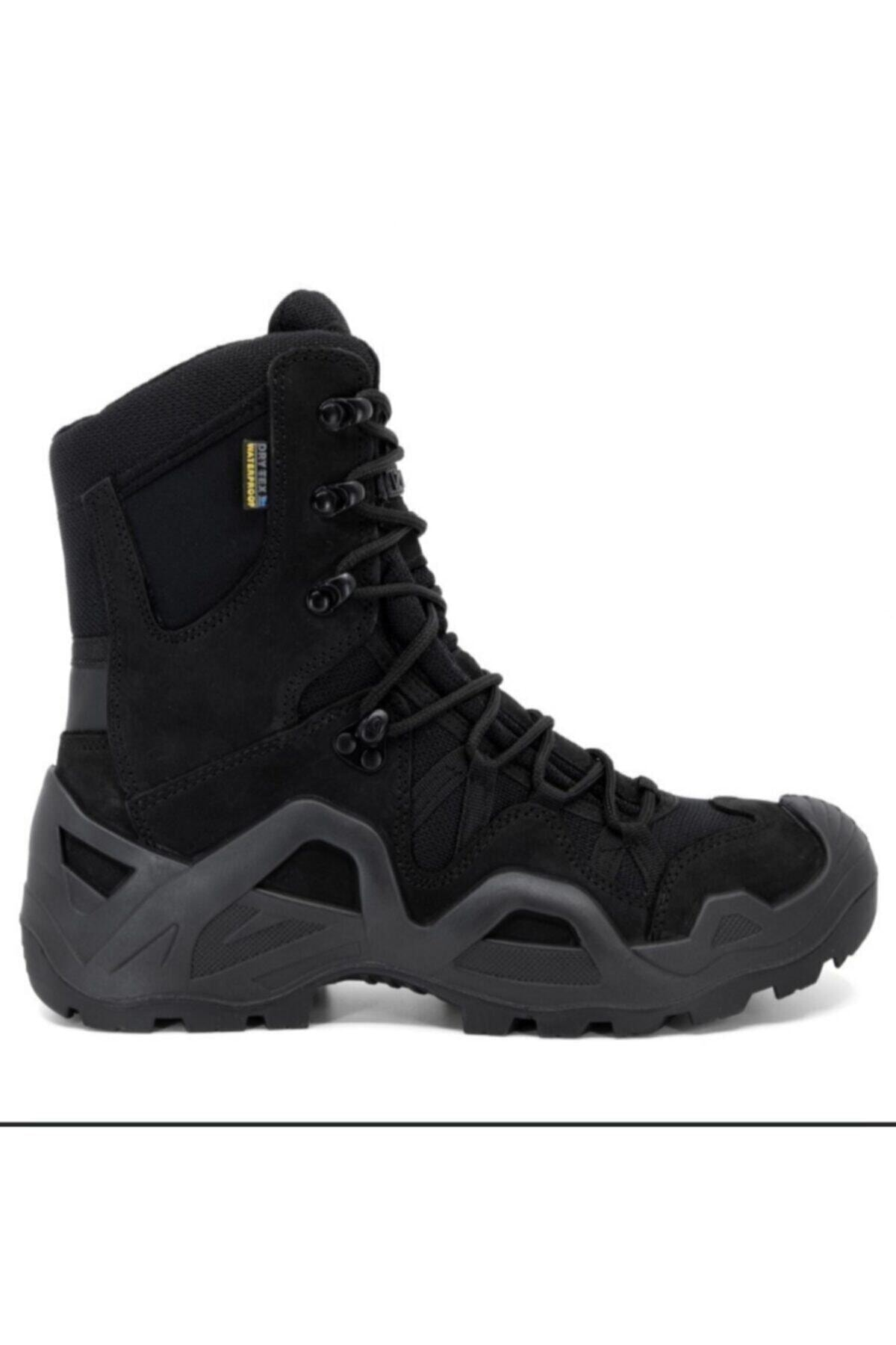Silyon Askeri Giyim Unisex Siyah Vaneda Askeri Tip Bot 1