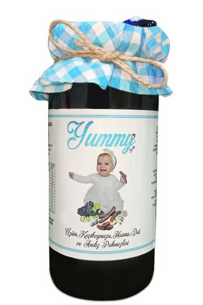 Yummy Baby Üzüm Keçi Boynuzu Harnup Hurma  Dut ve Andız Pekmezi 290 g 6 Ay Organik Bebek Ek Gıda