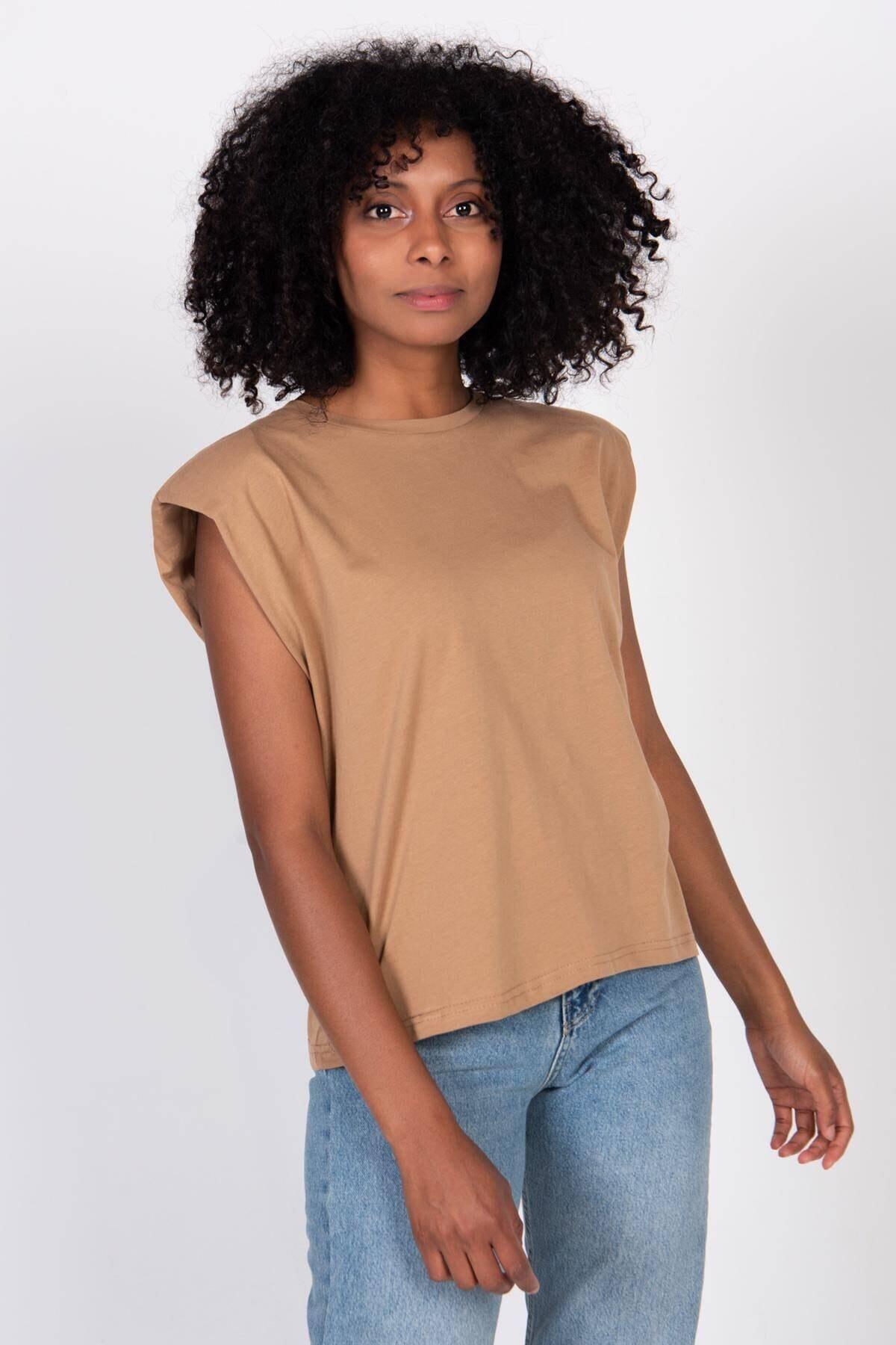Addax Vatkalı T-shirt P18802 - F5 2