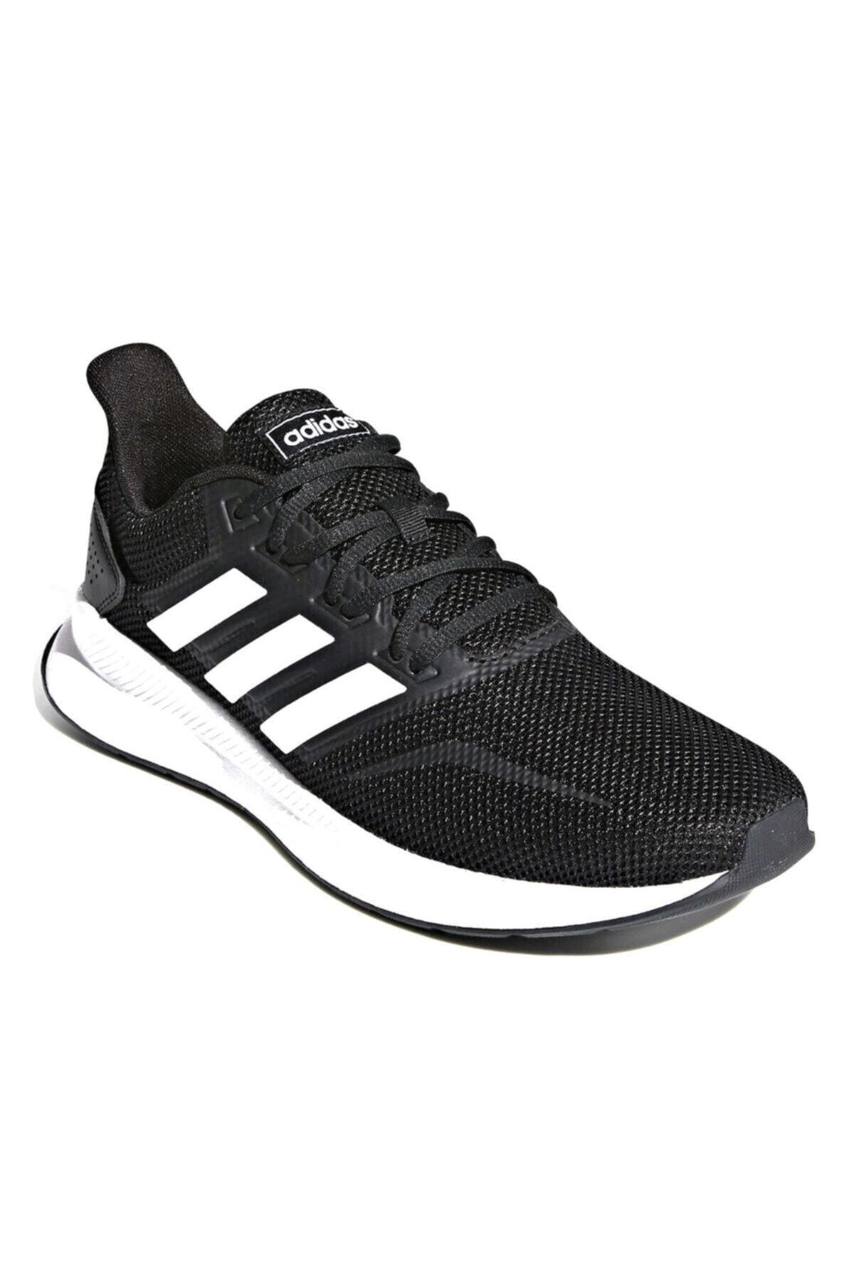 adidas RUNFALCON Siyah Erkek Koşu Ayakkabısı 100403379 2