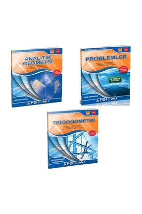 Apotemi Yayınları Apotemi Analitik Geometri + Problemler + Trigonometri 3 Lü Set
