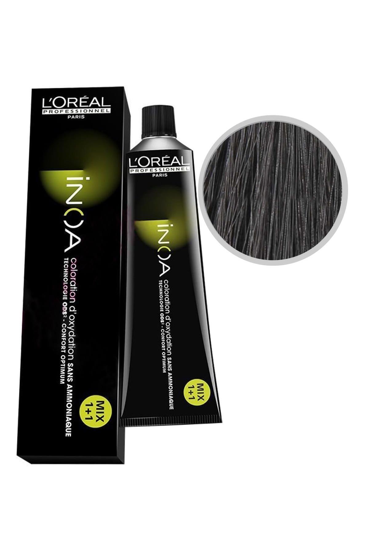 L'oreal Professionnel Saç Boyası 3 Koyu Kestane 3474630412644 (Oksidansız) 1