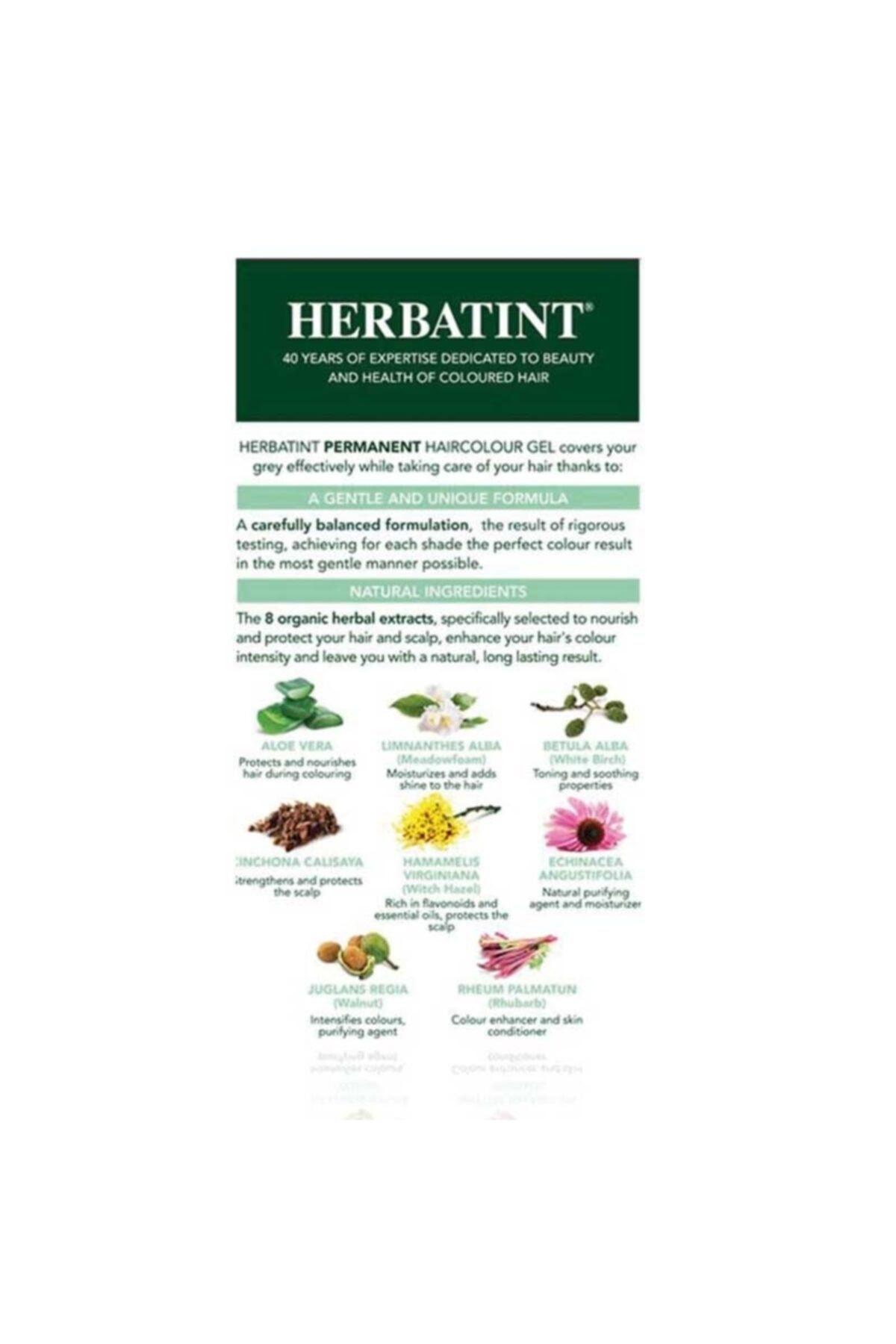 Herbatint Kalıcı Bitkisel Saç Bakım Boyası - 7m Mahogany Blonde Akaju Sarı 150 ml 8016744500180 2