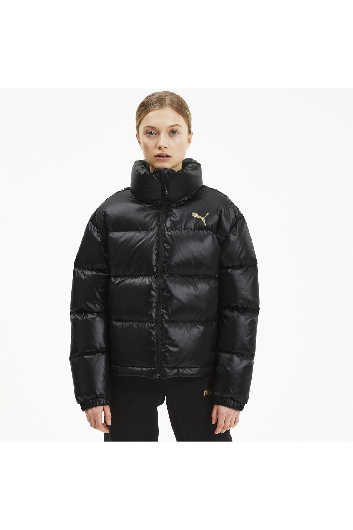 Puma Kadın Siyah Shıne Down Ceket