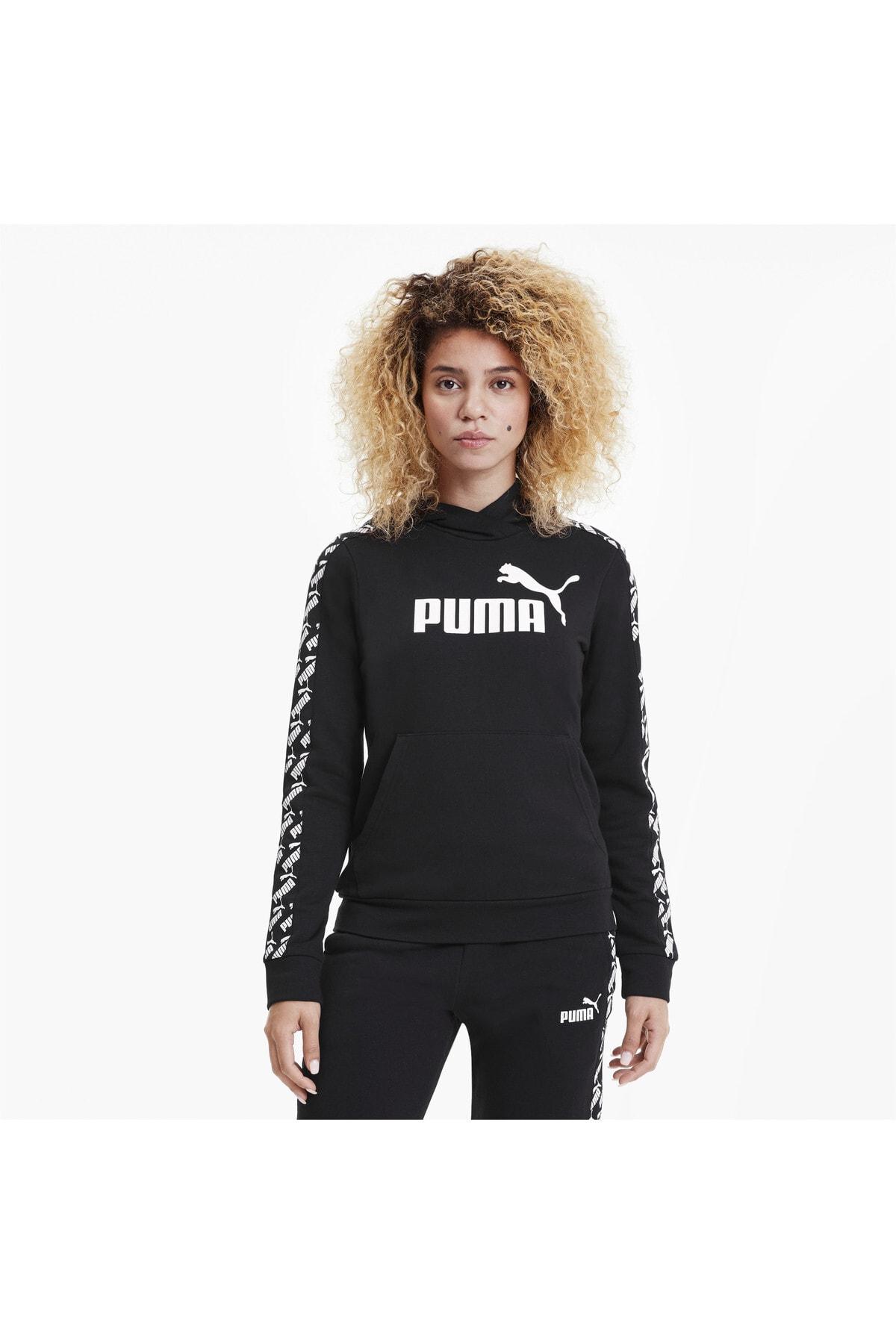 Puma Bluza Amplıfıed Hoody Tr Black