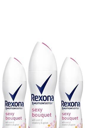 Rexona Kadın Deodorant Sprey Sexy 150 Ml X3