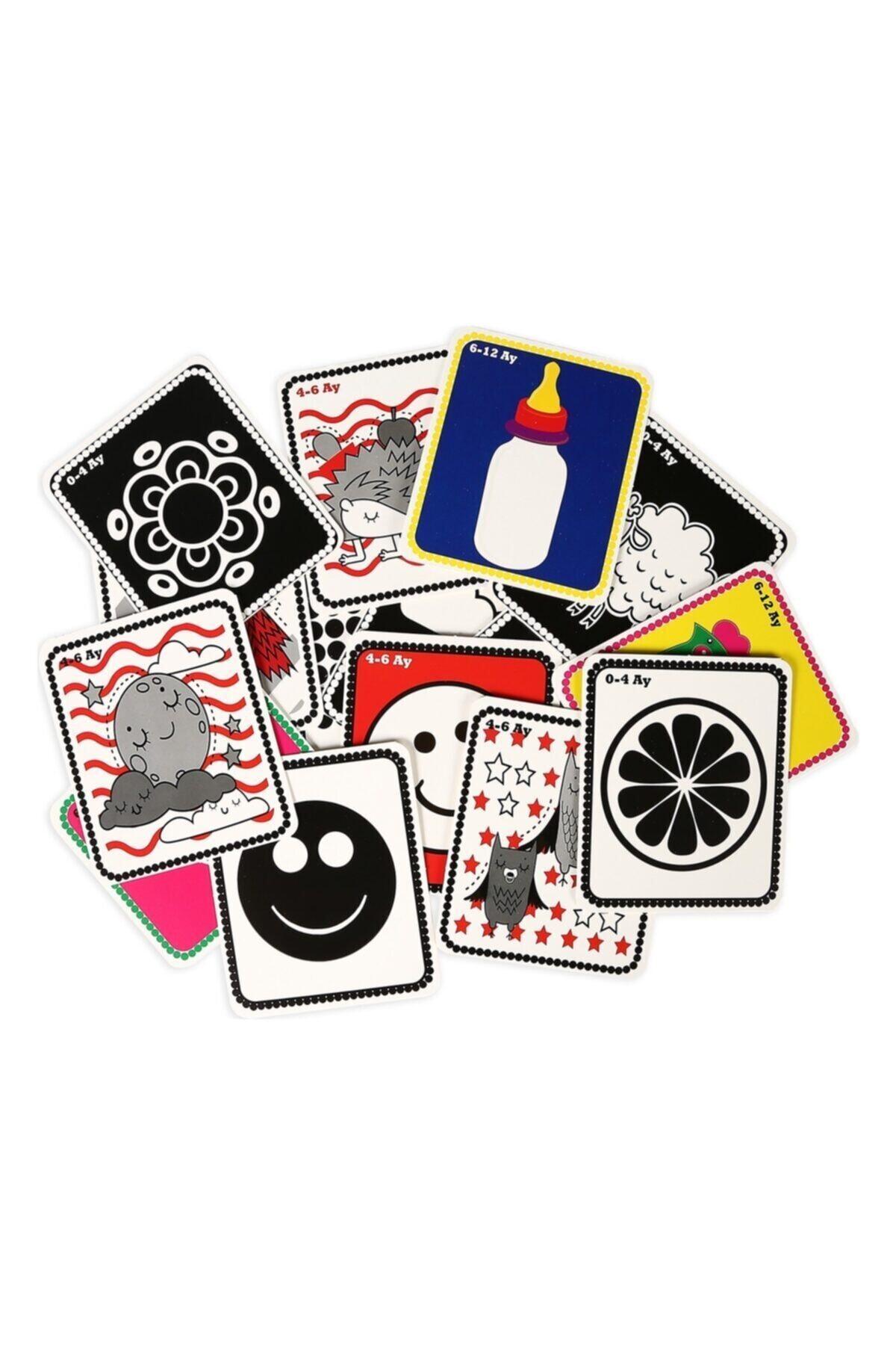 DIYTOY Flash Cards Ilk 50 Sözcük Bebeğimin Ilk Zeka Kartları 2
