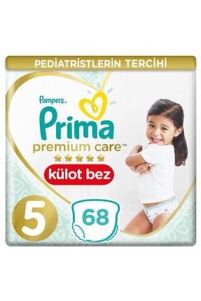 Prima Premium Care Külot Bebek Bezi 5 Beden 68 Junior İkiz Paket 34 Adet x2