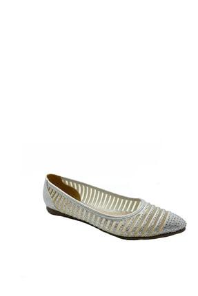 PUNTO Kadın Beyaz Konfor Rahatlık Ve Şıklık Bir Arada.Ayakkabı
