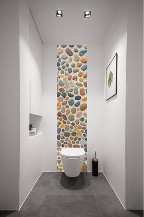 Kolhis 40cmx180cm Desen   Wc Tuvalet Arkası Kendiden Yapışkanlı Folyo   Banyo Fayans Kaplama Folyosu