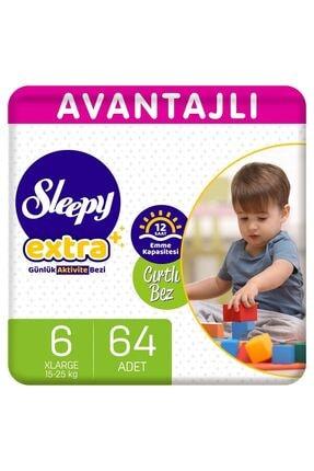 Sleepy Extra Avantajlı Bebek Bezi 6 Numara Xlarge 64 Adet