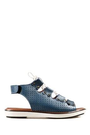 Hammer Jack Kot Mavi Kadın Terlik / Sandalet 157 715-z