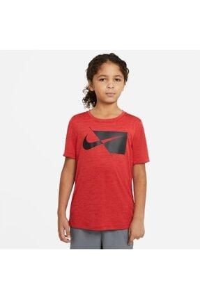 Nike Nıke B Nk Df Hbr Ss Top Erkek Çocuk Tişört Da0282-657