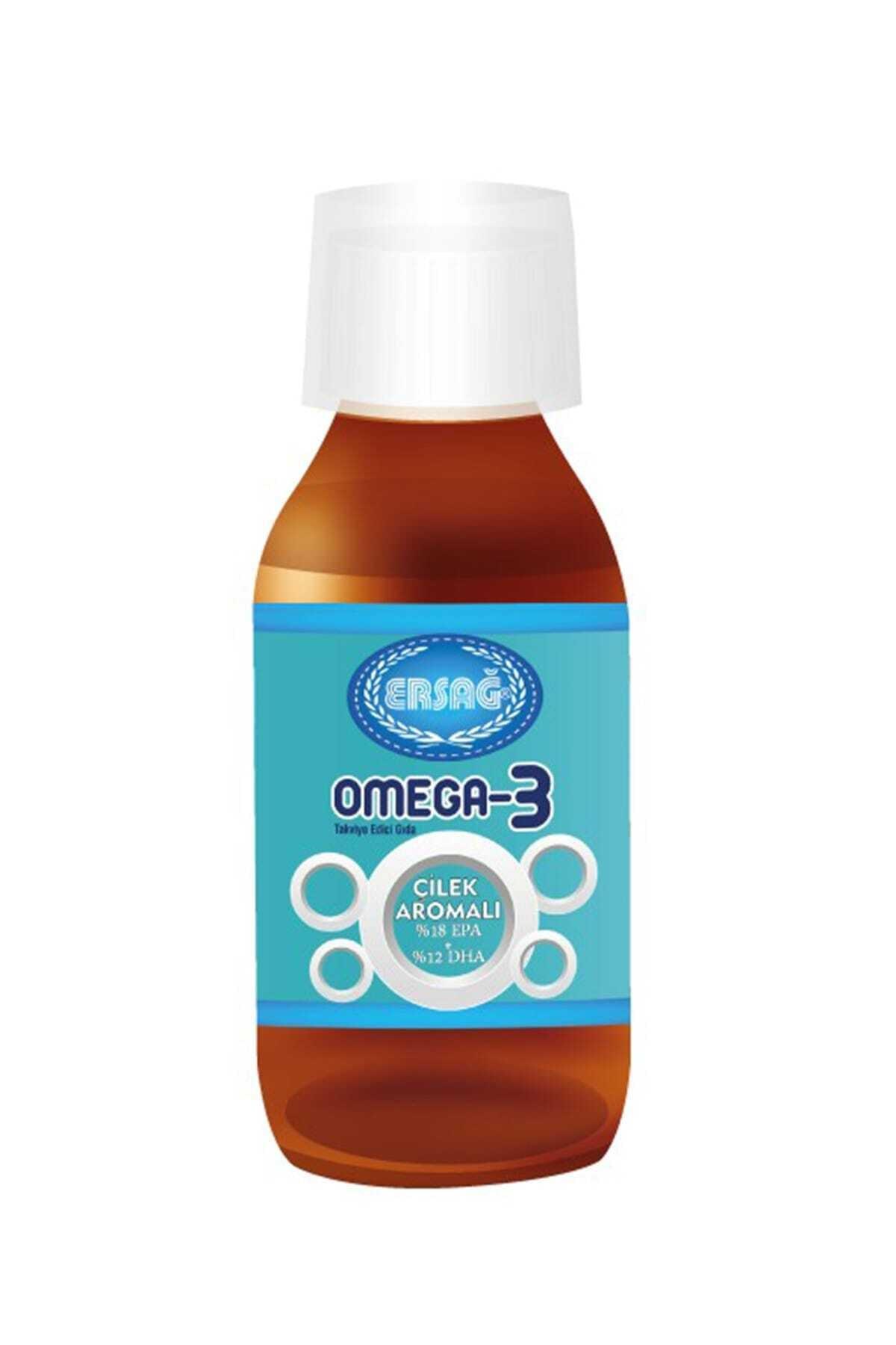 Ersağ Omega 3 Sıvı (Çılek Aromalı) 1