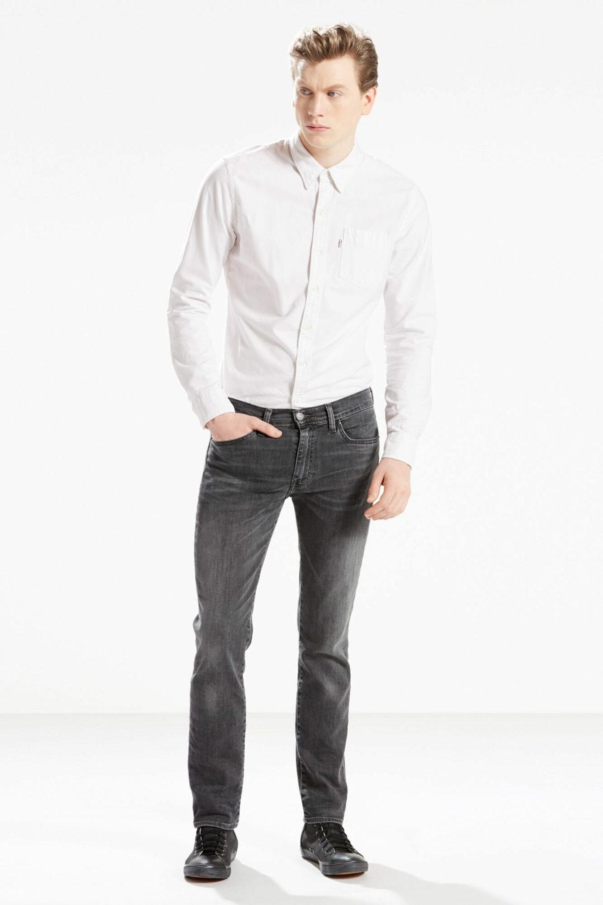 Levi's Erkek Gri 511 Slim Jean 04511-2091 1