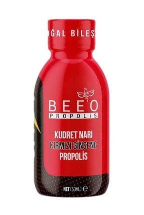 BEE'O Beeo Propolis Shot Kudret Narı Kırmızı Giseng 50 Ml