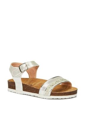 Vicco Kız Bebek Gümüş Sandalet