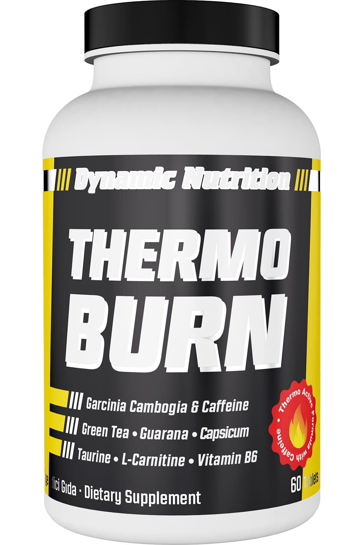 Dynamic Nutrition Thermo Burn 60 Tablet 1