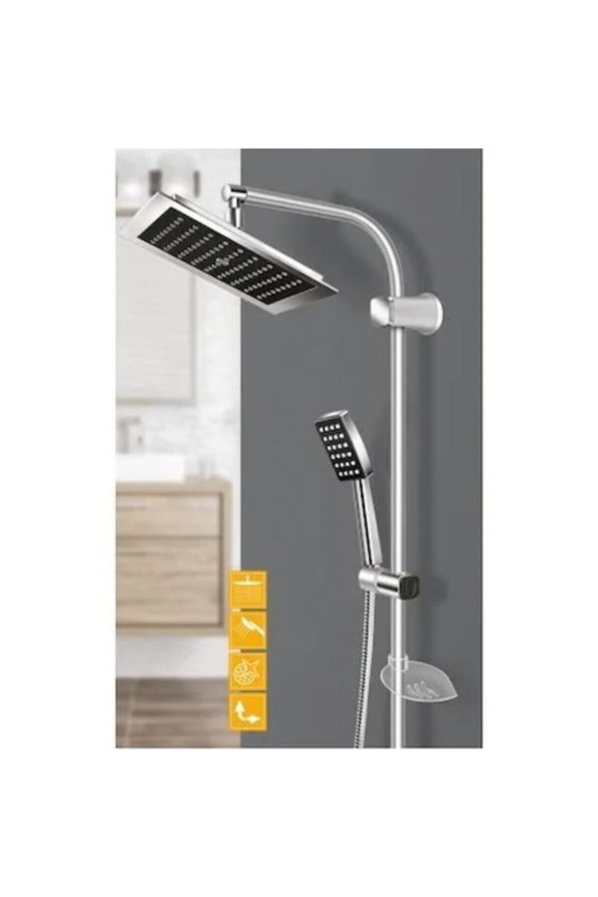 Beyazsu Duş Robotu Yağmurlama Tepe Duş Seti 1