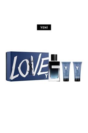 Yves Saint Laurent Y Erkek Eau De Parfum Seti 100 Ml 3614273431330