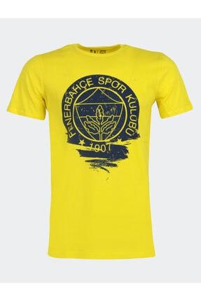 Fenerbahçe Erkek Tribün Dalga T-shırt