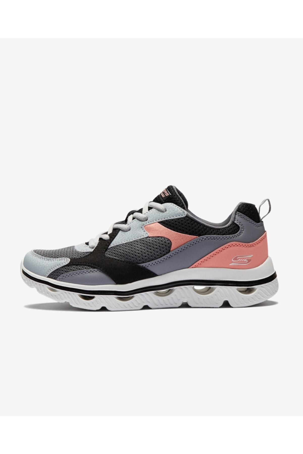 SKECHERS BOB'S SPORT ARC WAVES - GLIDE & FLY Kadın Gri Spor Ayakkabı 1