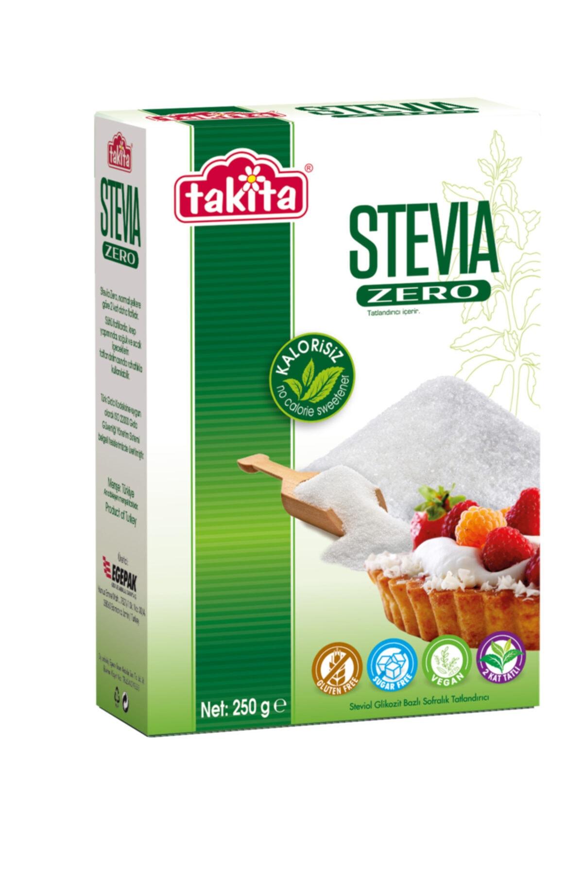 Takita Stevia Zero Toz Tatlandırıcı 250 G 1