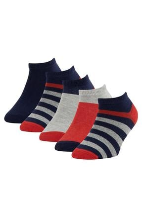 DeFacto Erkek Çocuk 5'li Patik Çorap