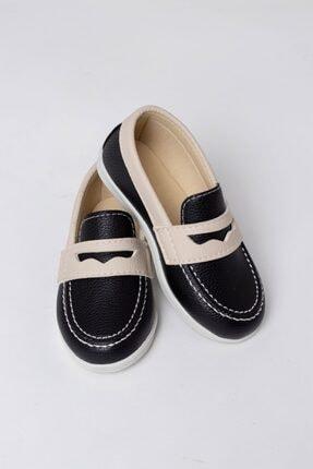 WOVS Erkek Çocuk Babet - Günlük - %100 Ortopedik - Babet Ayakkabı Zk1540